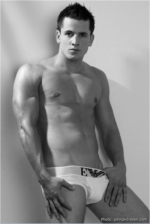 charming muscle model boy from Norway