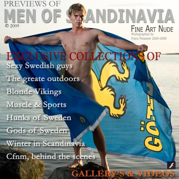 swedish muscle male athlete