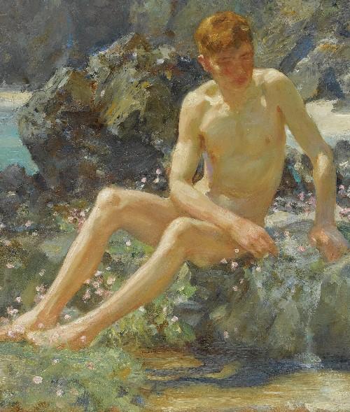 naked boys in art