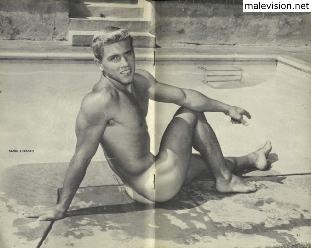vintage muscle male photography