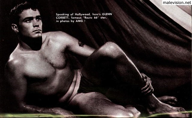 Muscle men in vintage physique photography