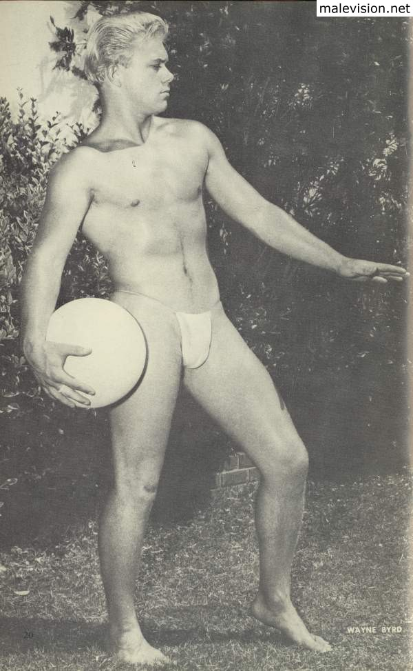male model from vintage Beach Adonis
