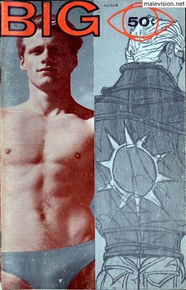 Muscle men photography of golden era
