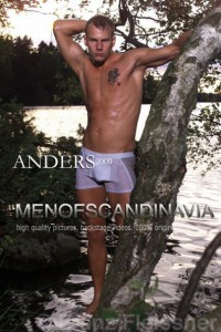 Charming muscle man from Sweden