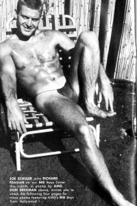 Male vintage physique photos from 1965