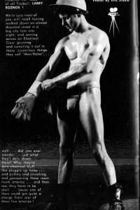 male vintage physique photo from Big Boys magazine