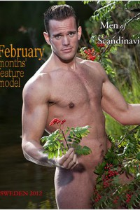 Charming muscle man photosession in Sweden