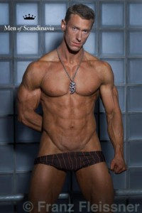 Handsome muscle hunk from Sweden