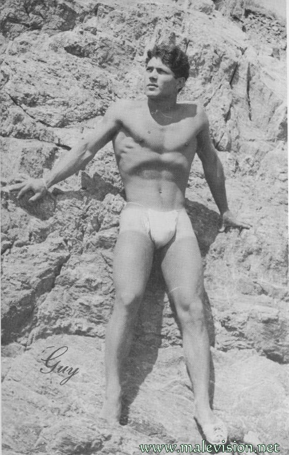 bodybuilder from physque vintage magazine
