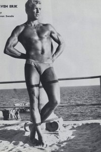 handsome swedish bodybuilder