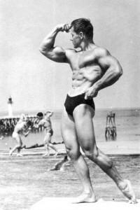 a bodybuilder from Finland