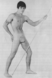muscle men vintage physique photo art