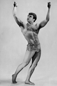 swedish bodybuilder vintage photography