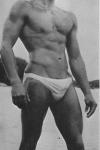beautiful man vintage physique