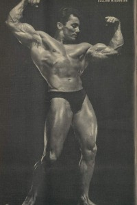 Male vintage bodybuilding