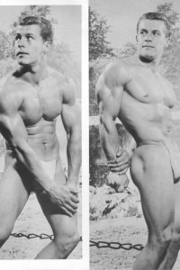 male vintage physique photography