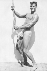 Beautiful male vintage physique photography