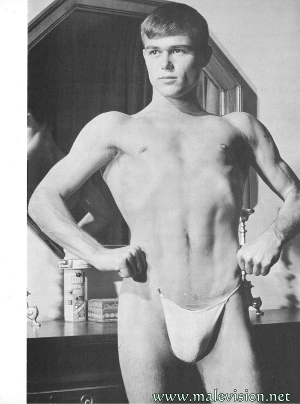 Boys 6 male vintage physique magazine