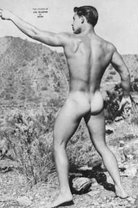 male vintage physique photo art