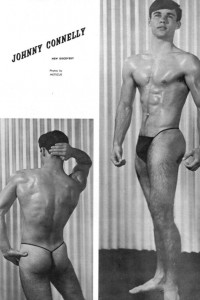 male physique vintage photo