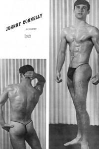 male physique vintage photo