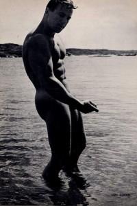 handsome scandinavian bodybulder