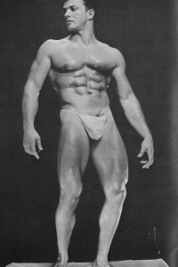 very beautiful muscle man physique vintage photo