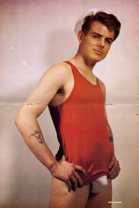 vintage colour male physique photography