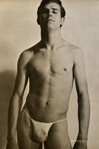 male vintage physique
