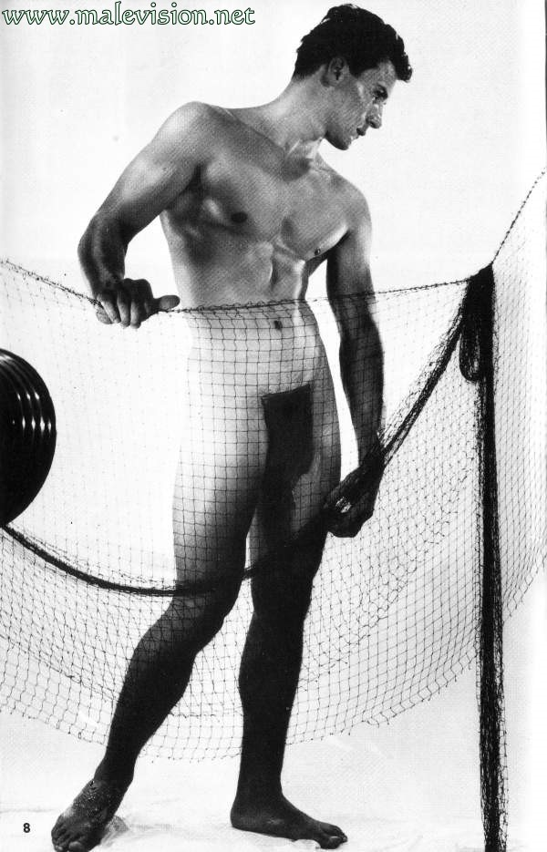beautiful muscle man vintage physique