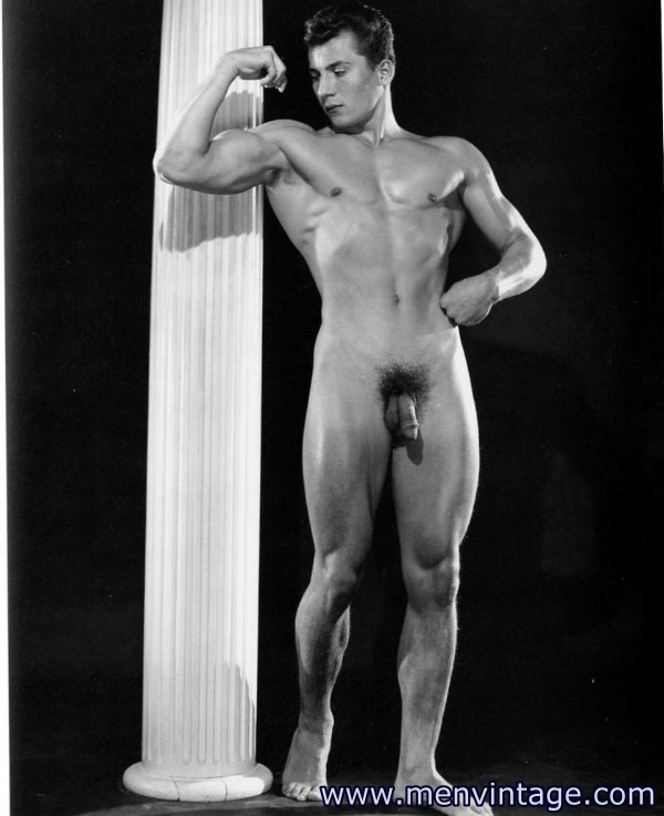Art male muscular nude photography