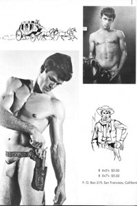 young muscle guy physique photo art