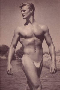 vintage physique photo by Delmonteque