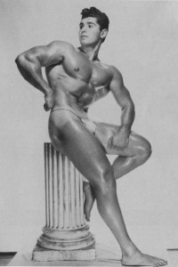 Stunning bodybuilder physique photo