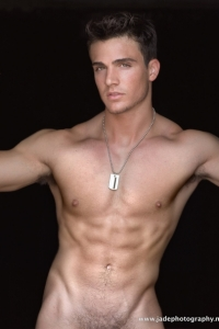 Philip Fusco male model erotica