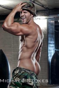 Eric Turner naked soldier