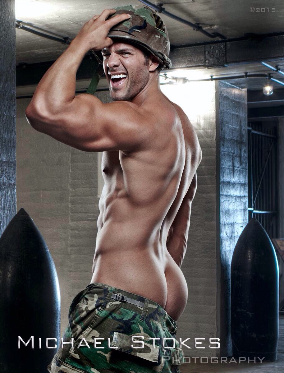 Eric Turner naked soldier
