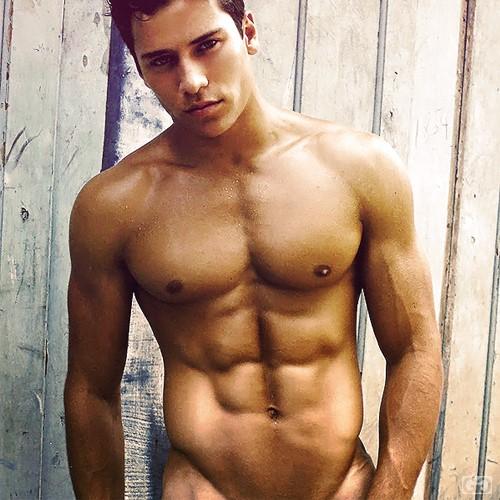 muscle male model from Brazil