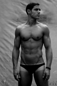 male fitness model from Brazil