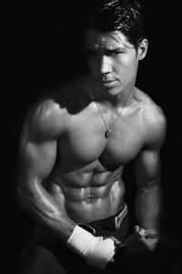 handsome fintess model from Brazil