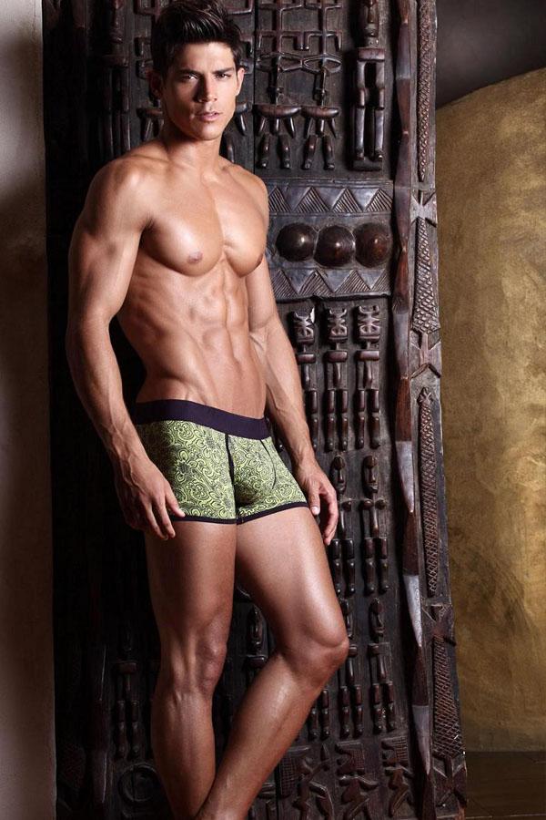 muscle male model
