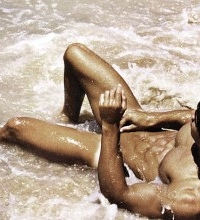 Carlos Freiere nudeo on beach