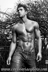 beautiful muscle male model