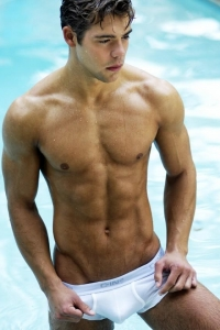 Chris Campanioni swimwear