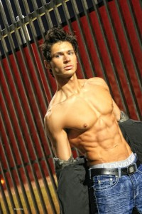 Macedonian fitness model