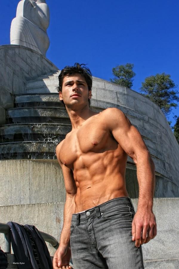 Macedonian male model