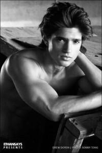 beautiful male model