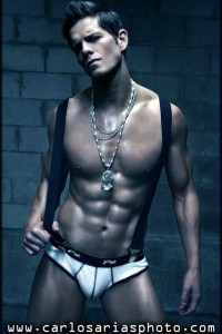 male fintess model Eric Turner