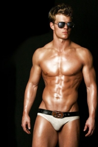 Gorgeous Lars Slind model