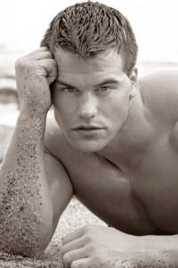 charming american male model